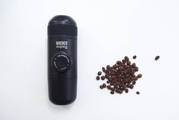 best portable espresso maker review - the wacaco minipresso