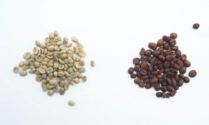 fresh roast sr500 review green vs roasted coffee beans