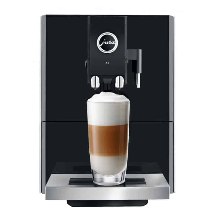 Jura A9 PEP One Touch can also dispense hot water for your tea or other drink