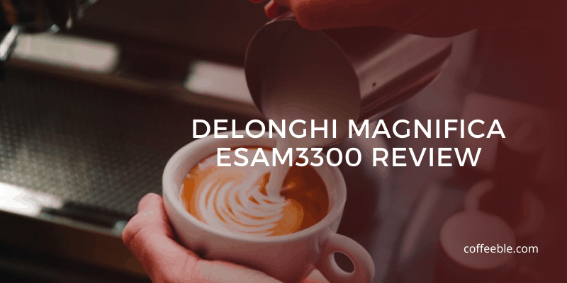 Pouring Milk Into Coffee DeLonghi Magnifica Review