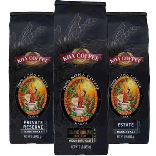 Koa Coffee 100% Kona Tri-Pack