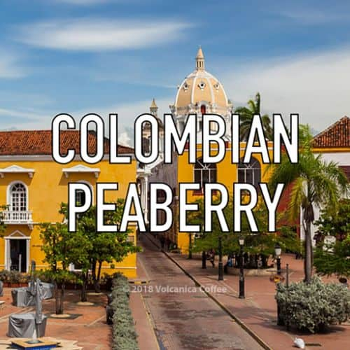 Volcanica Colombian Peaberry
