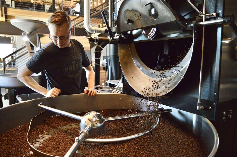 inline coffee roaster