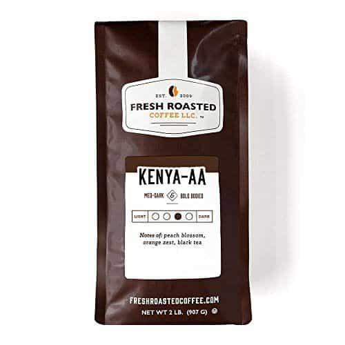 Fresh Roasted Coffee LLC Kenya AA Nyeri Ichamara Coffee